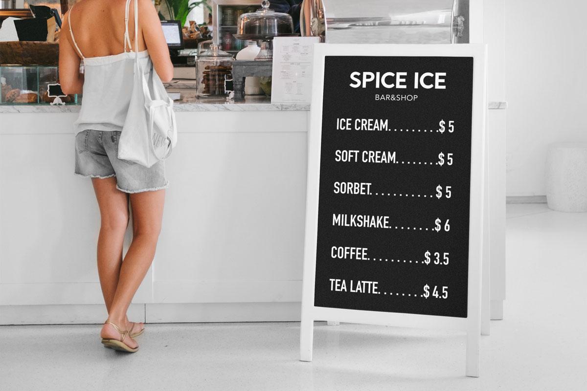 Restaurant-Stand-Spice-ice