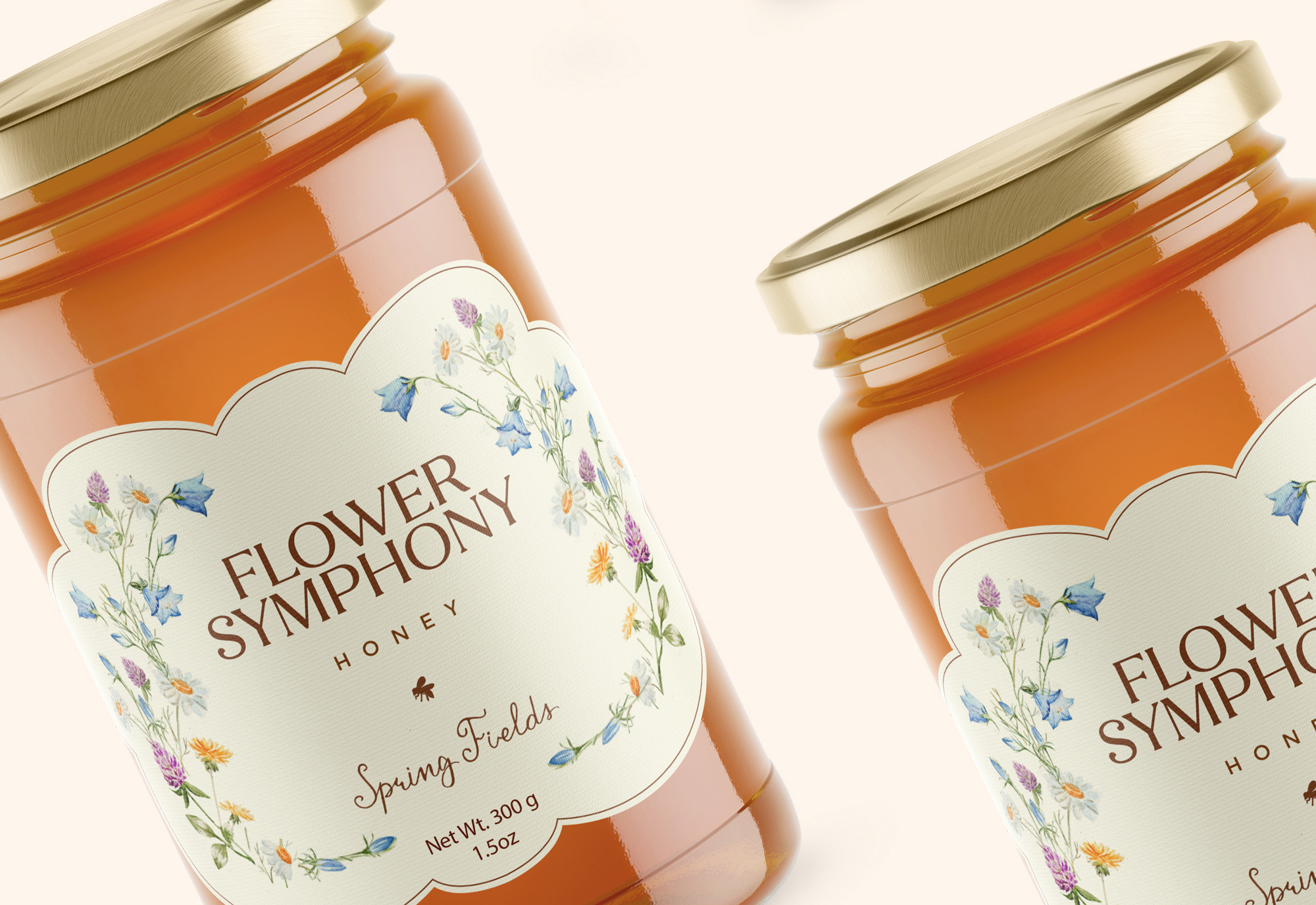 Honey Flower Symphony
