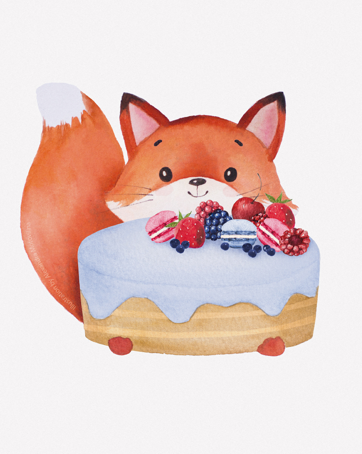 Alexandra-Motovilina_Christies-Bakery_Birthday-Fox