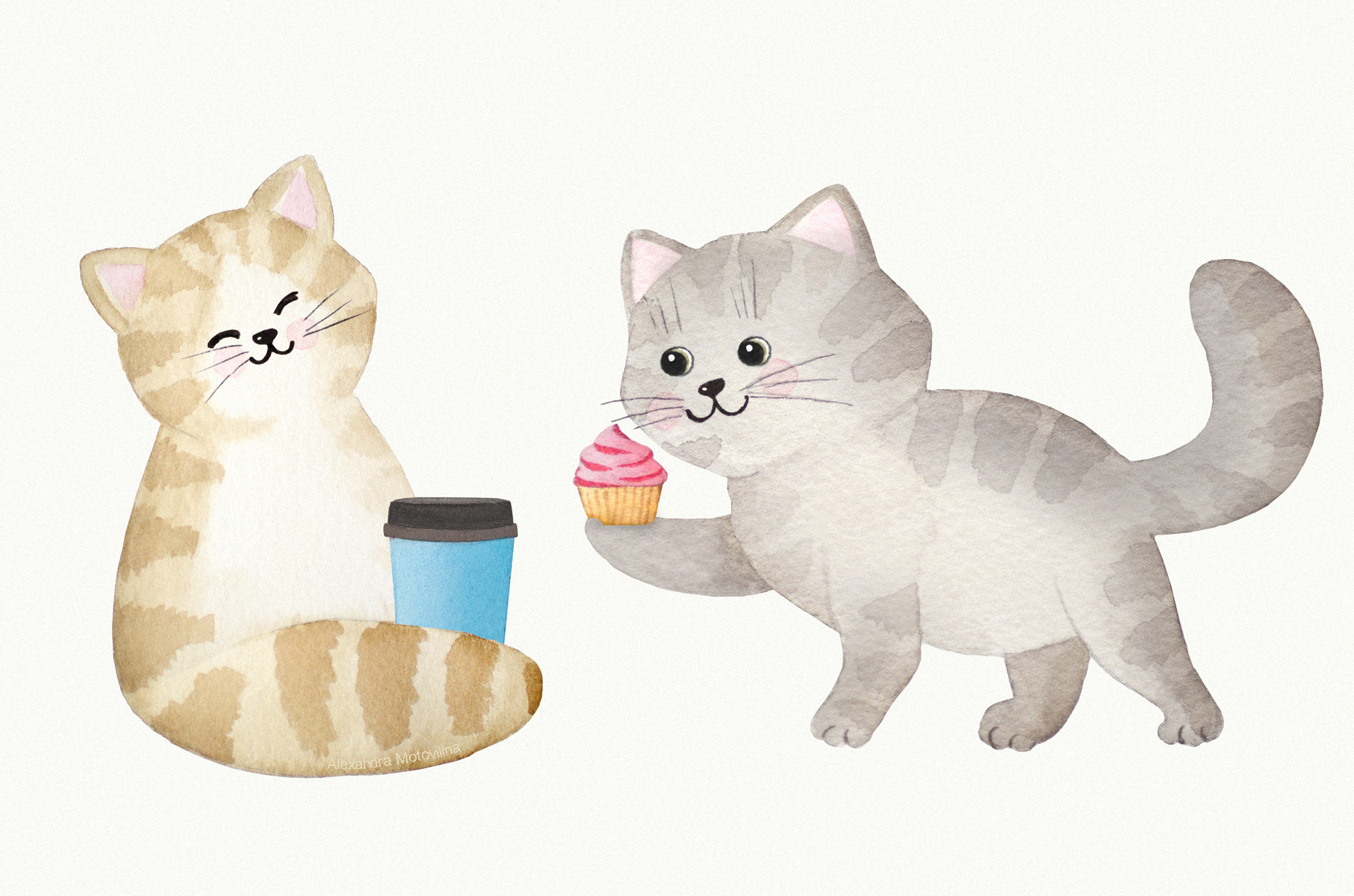 Alexandra-Motovilina_Christies-Bakery_Cute-Cats