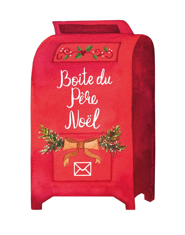 Alexandra-Motovilina_Christmas-Illustration_Boite-du-Père-Noël