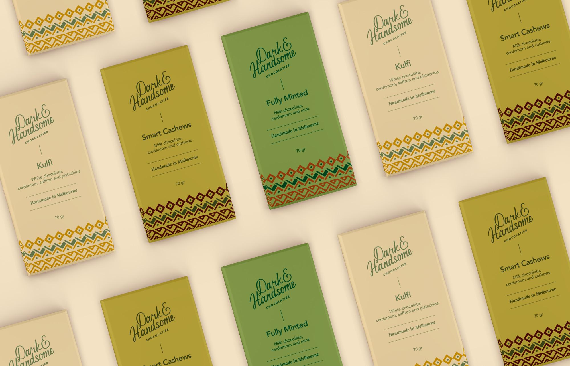 Chocolates-green